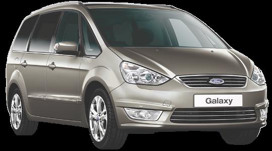 Лобовое стекло на Ford Galaxy