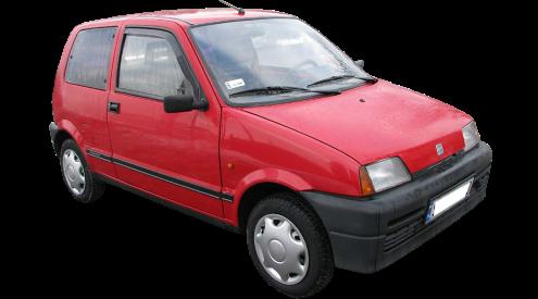 Лобовое стекло на Fiat Cinquecento