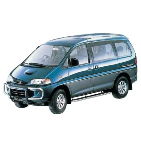 Лобовые стекла на Mitsubishi Delica L400