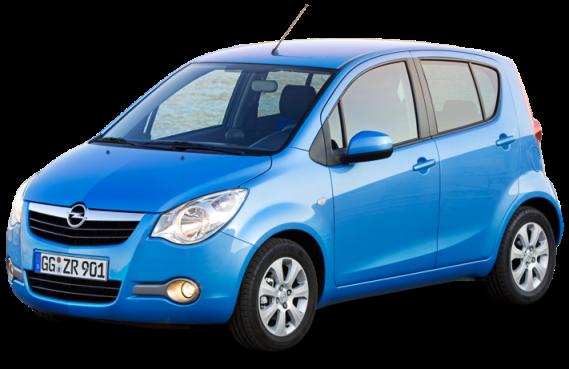 Лобовые, боковые и задние стекла на Opel Agila