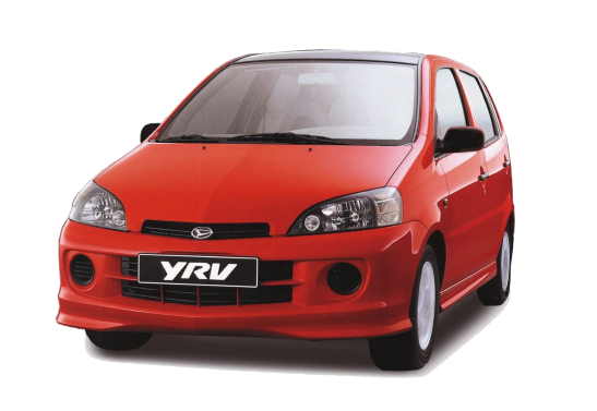 Лобовое стекло на Daihatsu YRV