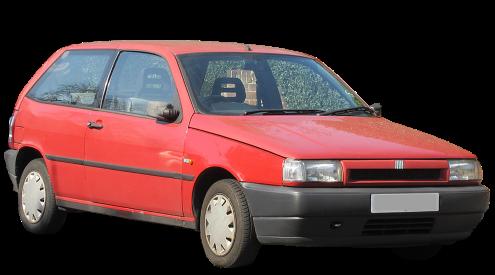 Лобовое и боковое стекло на Fiat Punto