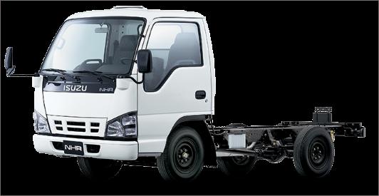 Лобовое стекло на Isuzu truck