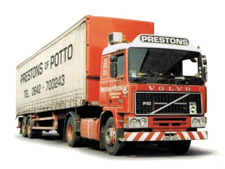 Лобовые и боковые стекла на Volvo F10/F12/F16