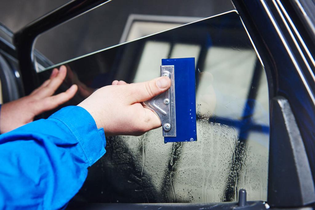 Как наносится арт-тонировка на стекла автомобилей